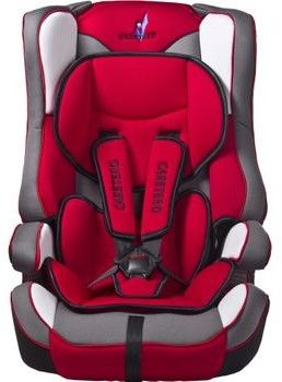Caretero Vivo fotelik samochodowy 9-36 kg Red