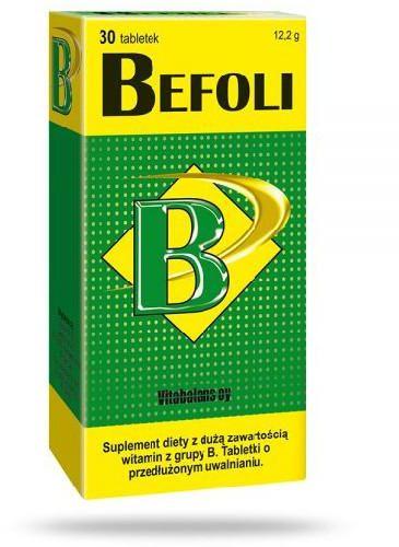 Befoli witamina B 30 tabletek