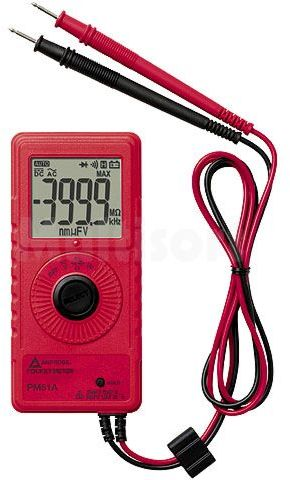 Multimetr cyfrowy BEHA-AMPROBE PM51A LCD (4000) 3x/s V AC 1mV...600V
