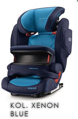 RECARO Monza Nova IS Fotelik samochodowy 9-36 kg Xenon Blue