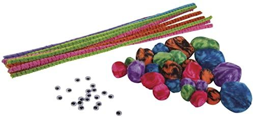 RAYHER 8714800 Chenille zestaw do majsterkowania Candy