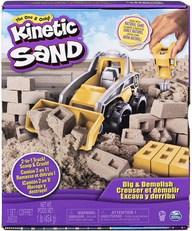 Kinetic Sand - Zestaw budowlany 20108564