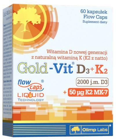 Olimp Gold-Vit D3+K2 60 kapsułek