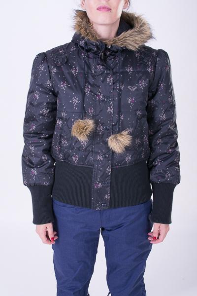 kurtka street zimowa damska ROXY RX jacket flwr true black