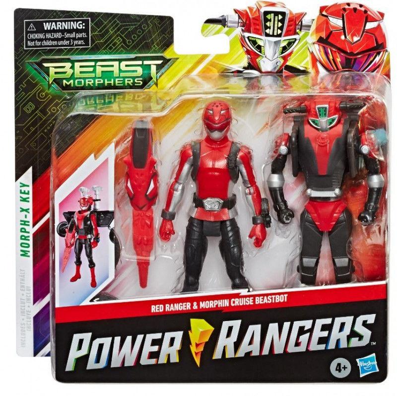 Figurki Power Rangers BMR Red Ranger Cruise BB Pack