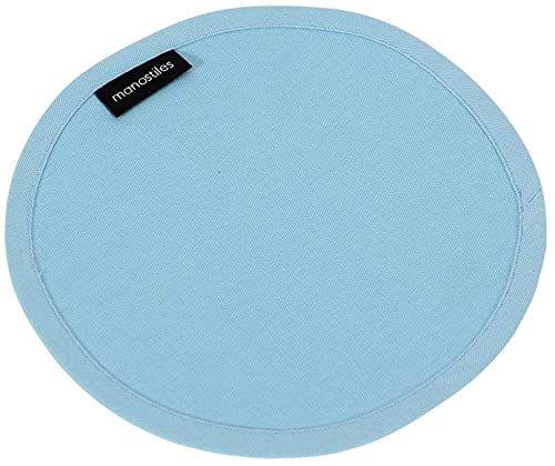 Manostiles Danish Design Co. podkładka, 100% bawełna organiczna, niebieski, jeden rozmiar