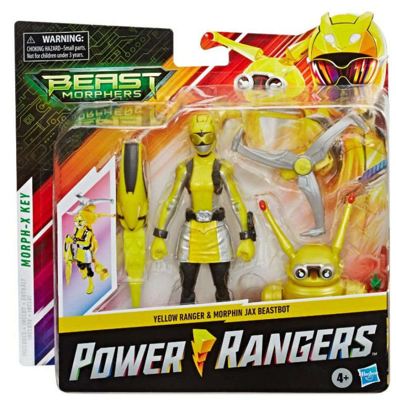 Figurki Power Rangers BMR Ylw Ranger Jax BB Pack