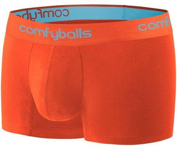 COMFYBALLS Bokserki do biegania REGULAR PERFORMANCE pomarańczowe