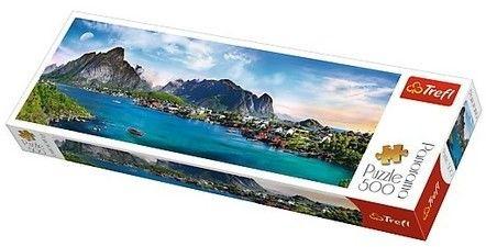 Trefl -PUZZLE 500EL TREFL 29500 NORWEGIA PUD 53257-uniw