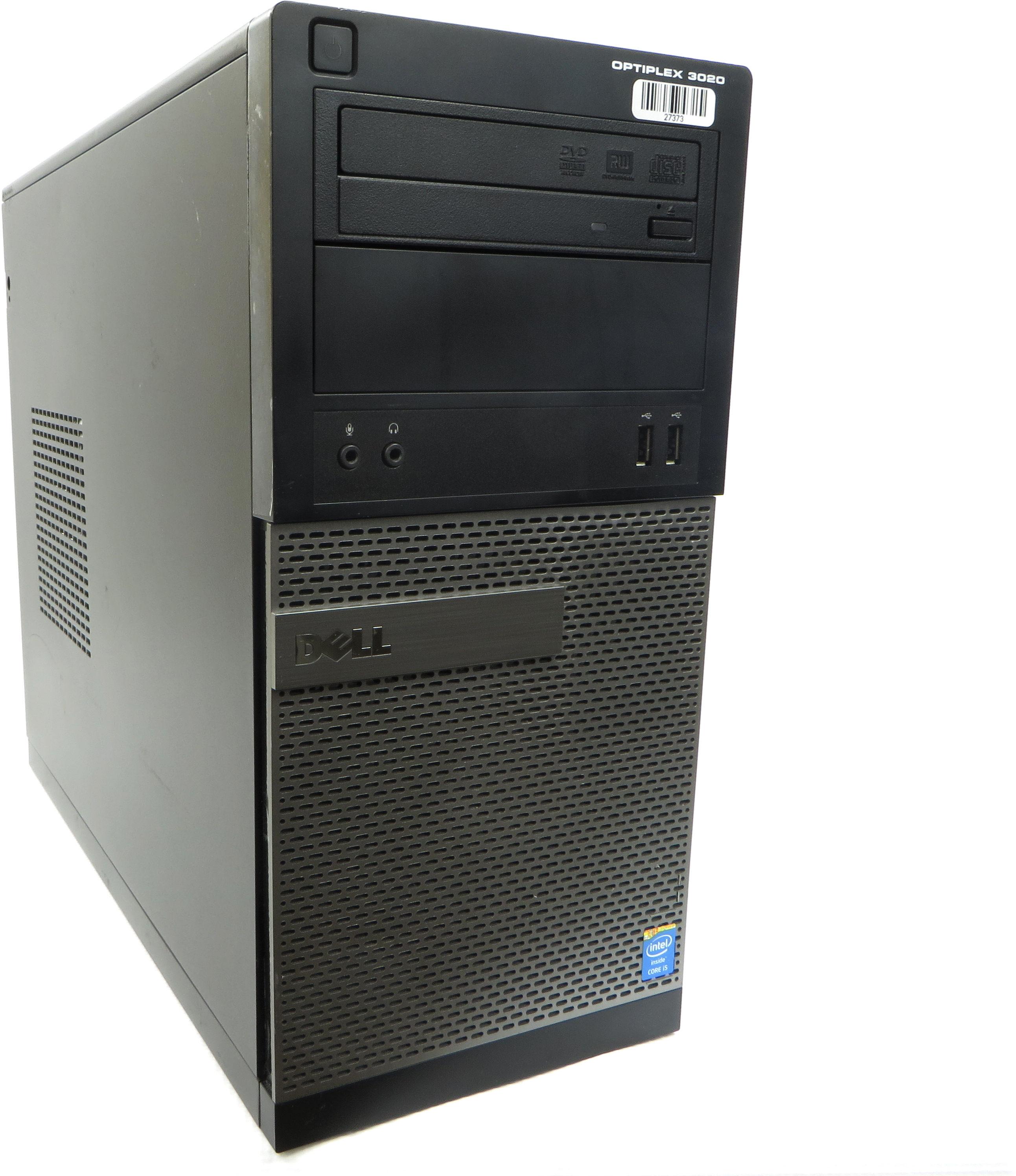 Komputer DELL OptiPlex 3020 MT i5-4590 4x3.60GHz 8GB 240GB SSD DVD Windows 7/8/10 Professional