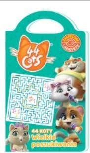 44 koty Wielkie poszukiwania - praca zbiorowa