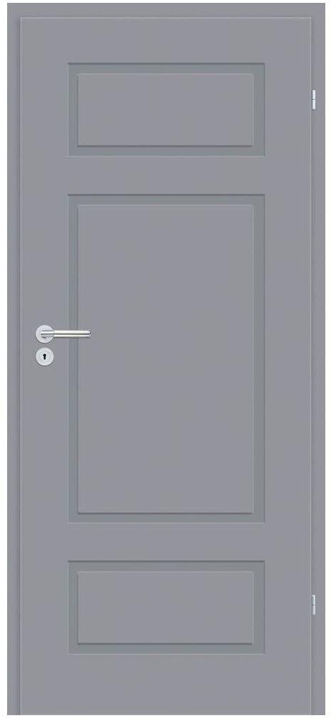 Skrzydło drzwiowe pełne Grifo Szare 80 Prawe Classen