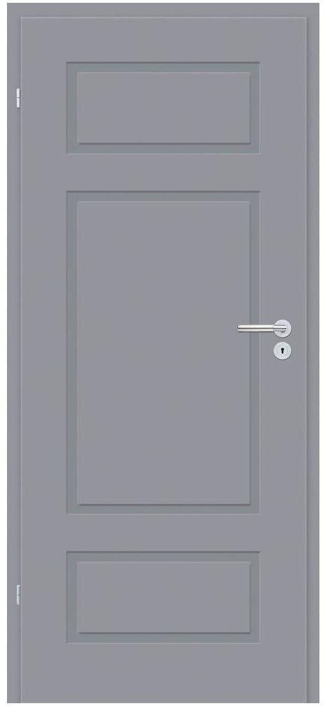 Skrzydło drzwiowe pełne Grifo Szare 90 Lewe Classen