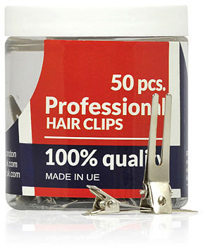 Ronney Profesjonalne klipsy fryzjerskie Model 30939 50 szt.
