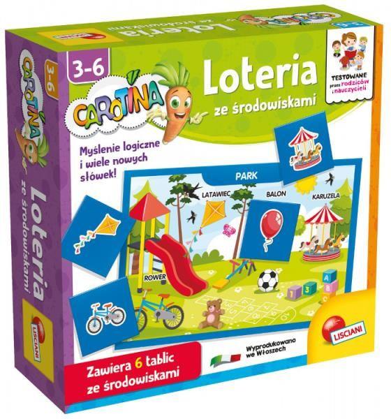 Carotina Loteria ze środowiskami 87501 LISCIANI (304-PL87501)