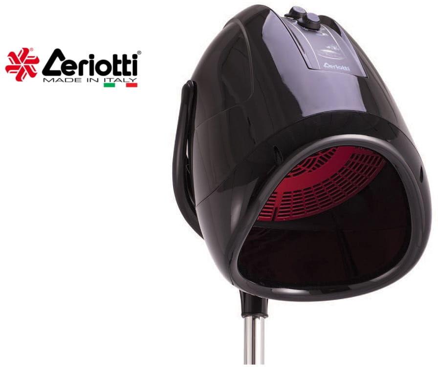 Ceriotti MEC 4V Tormalina suszarka hełmowa czarna