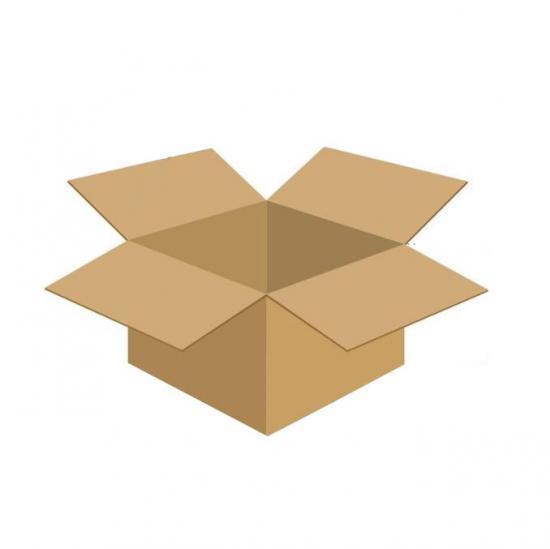 Karton klapowy tekt 3 - 285 x 230 x 180 420g/m2 fala B
