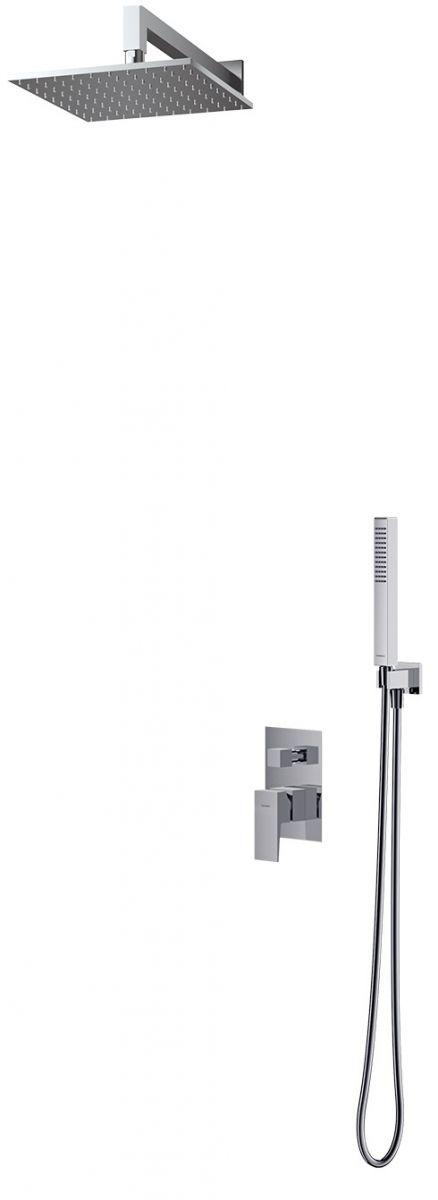 Omnires Fresh kompletny łazienkowy system podtynkowy chrom SYSFR17CR