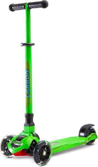 Hulajnoga trójkołowa Toyz Carbon Green