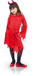 Rubies  s8294 m  kostium dla dzieci, mała diabelska