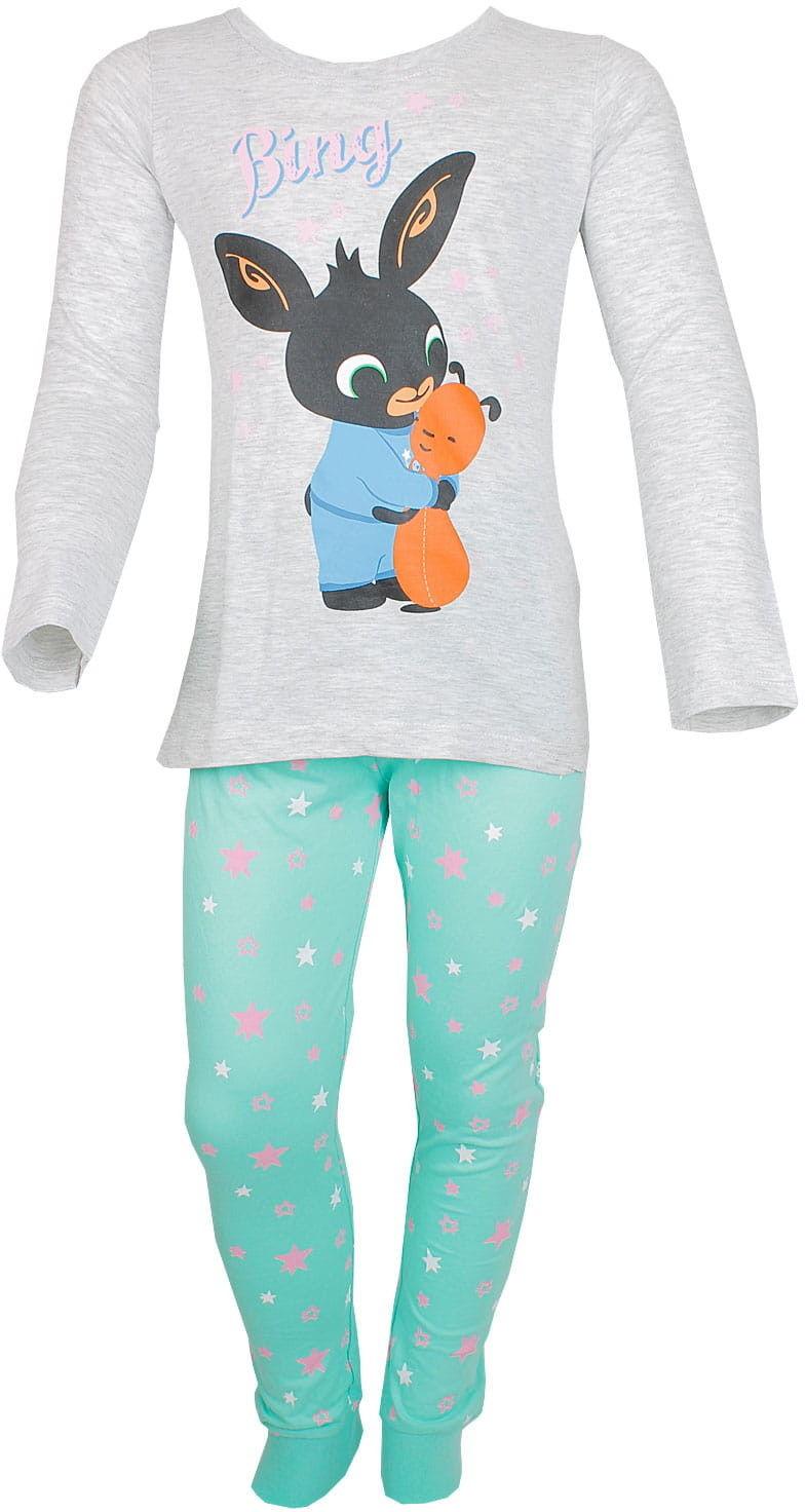Piżama dla dziewczynki KRÓLICZEK BING długi rękaw