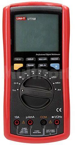 Multimetr cyfrowy UNI-T UT70B LCD 3,75 cyfry (3999) z bargrafem