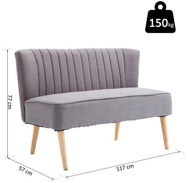 Sofa kanapa 2 osobowa do 150 kg