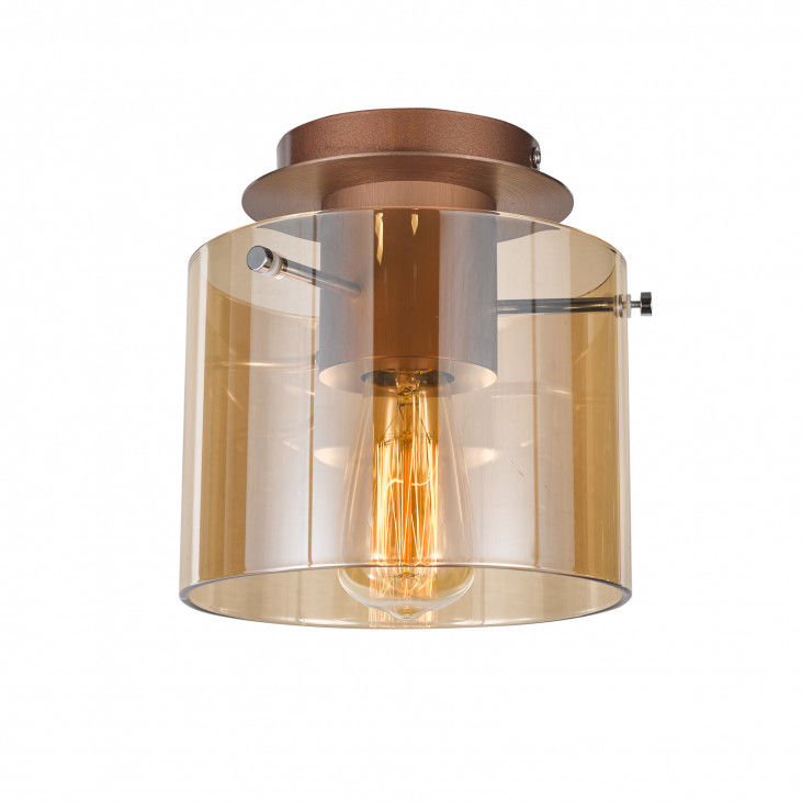 Plafon Javier MX17076-1A Italux szklana dekoracyjna lampa