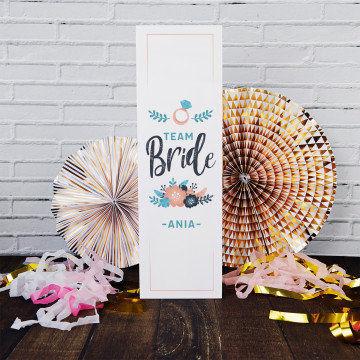 Team bride - Skrzynka na alkohol