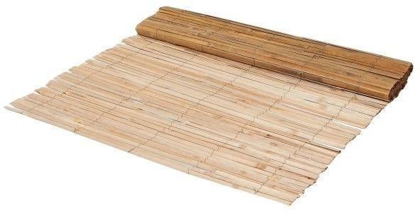 Mata balkonowa bambusowa Blooma półłupana 100 x 300 cm