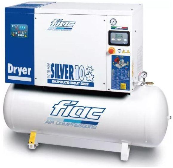 Kompresor śrubowy FIAC NEW SILVER D 10/500/10 7,5 kW