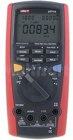 Multimetr cyfrowy UNI-T UT71A LCD (20000) Bargraf 40 segm.10x/s