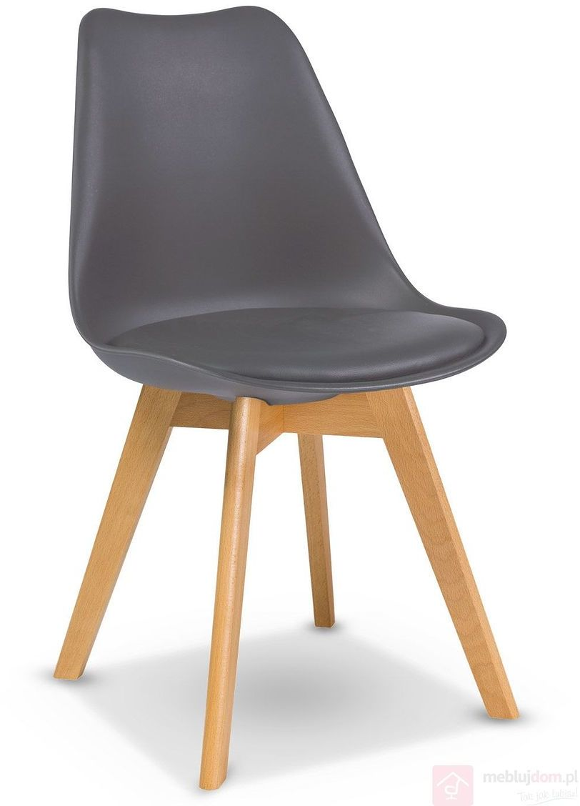 Krzesło KRIS Signal bukowe nóżki Szary