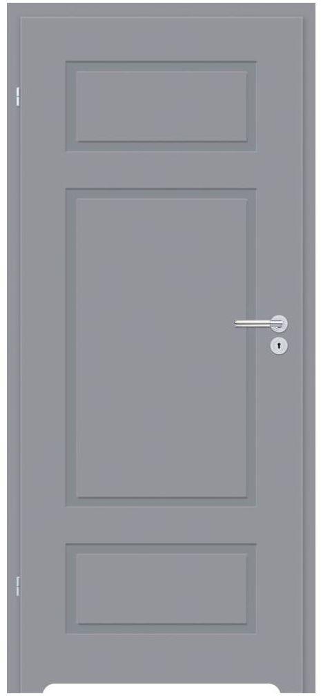 Skrzydło drzwiowe z podcięciem wentylacyjnym Grifo Szare 80 Lewe Classen