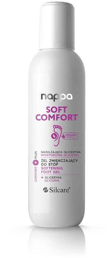 Żel zmiękczający do stóp nappa Soft Comfort nawilżająca gliceryna 90 ml