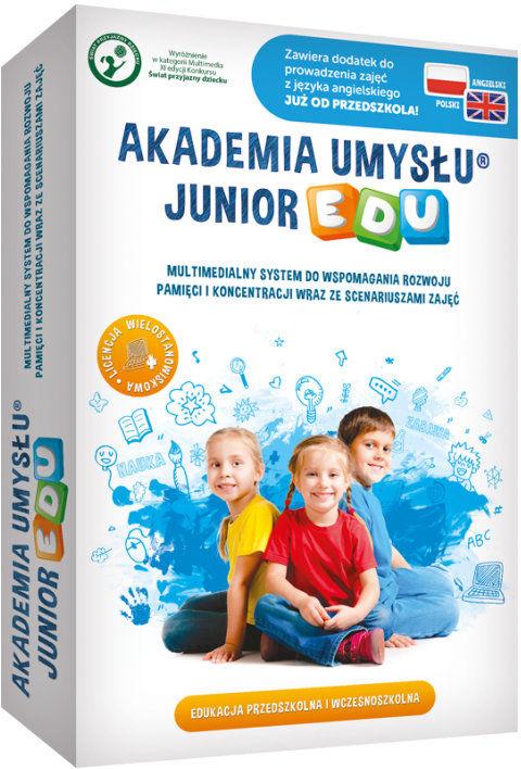 Akademia Umysłu JUNIOR EDU z dodatkiem j. angielskiego