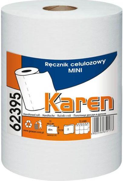 Ręcznik papierowy w roli Mini celuloza - Karen Ręcznik papierowy w roli Karen
