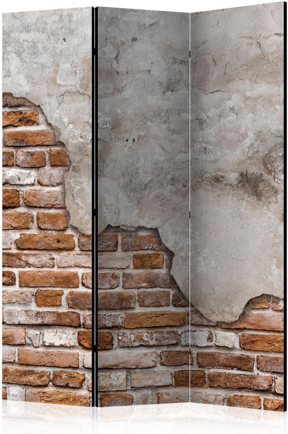 Parawan 3-częściowy - industrialny duet [room dividers]