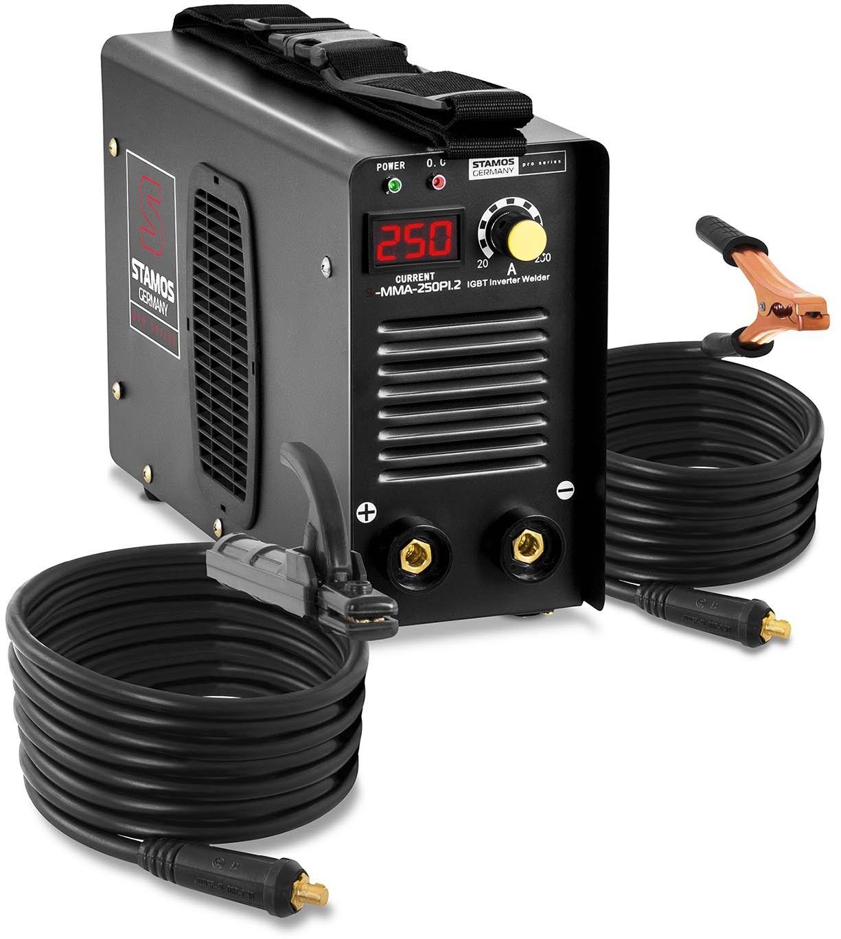 Spawarka MMA - 250 A - 230 V - IGBT - Stamos Pro Series - S-MMA-250PI.2 - 3 lata gwarancji/wysyłka w 24h