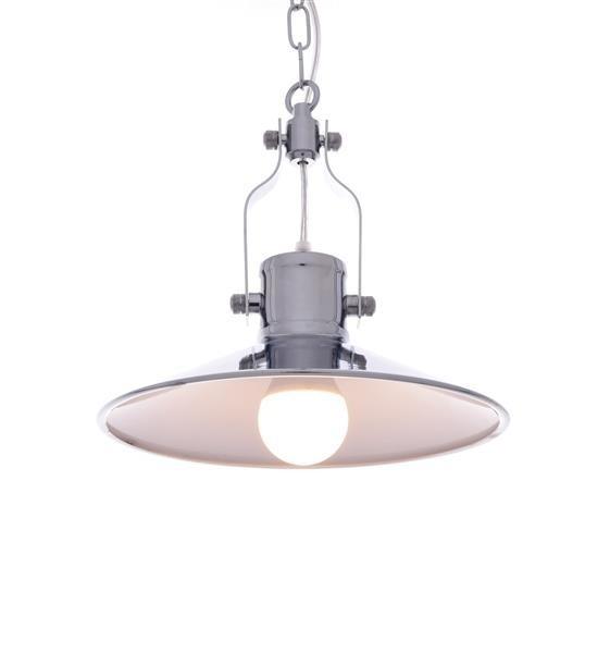 Lumina Deco Setorre loftowa chromowana lampa wisząca
