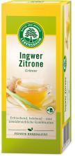Herbata zielona IMBIR-CYTRYNA ekspresowa BIO (20x2g) Lebensbaum
