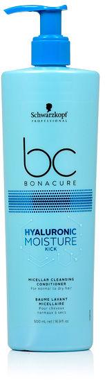 Schwarzkopf BC Hyaluronic Moisture Kick Micelarna odżywka oczyszczająca 500 ml