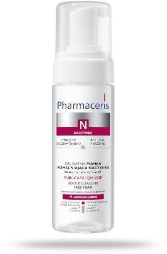 Pharmaceris N Puri-Caplilicmusse pianka delikatna wzmacniająca naczynka do twarzy i oczu 150 ml