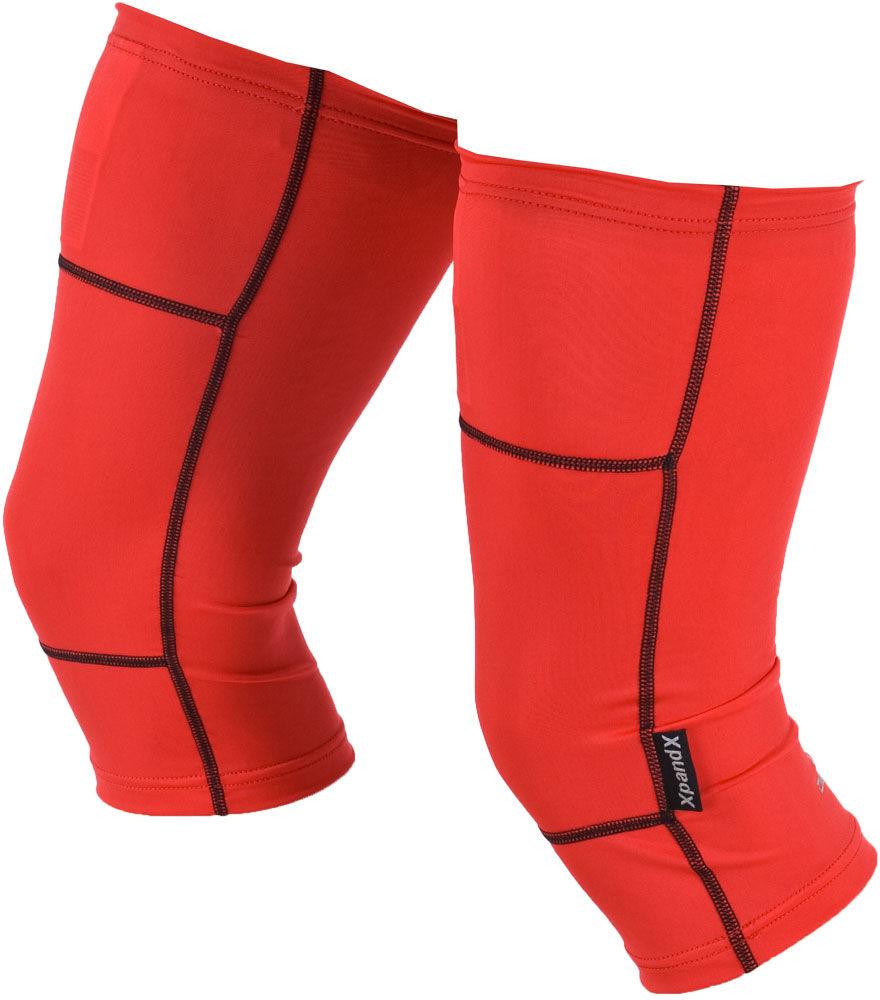 DEKO DUAL nakolanniki nieocieplane czerwone Rozmiar: XL-XXL,DUAL-nak-red
