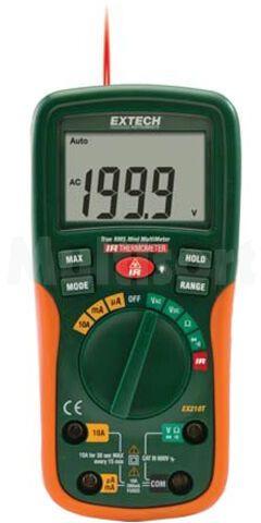 Multimetr cyfrowy EXTECH EX205T LCD (2000) V DC 0,1mV...600V