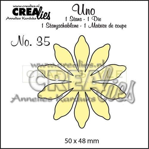 Wykrojnik CreaLies - Kwiat no.35