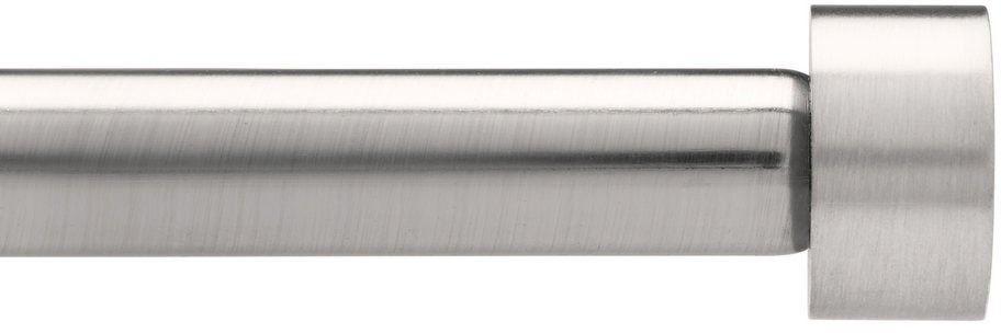 Umbra - karnisz cappa 1,9 cm - 91,4-182,6 cm - nikiel - 91,4-182,6 cm
