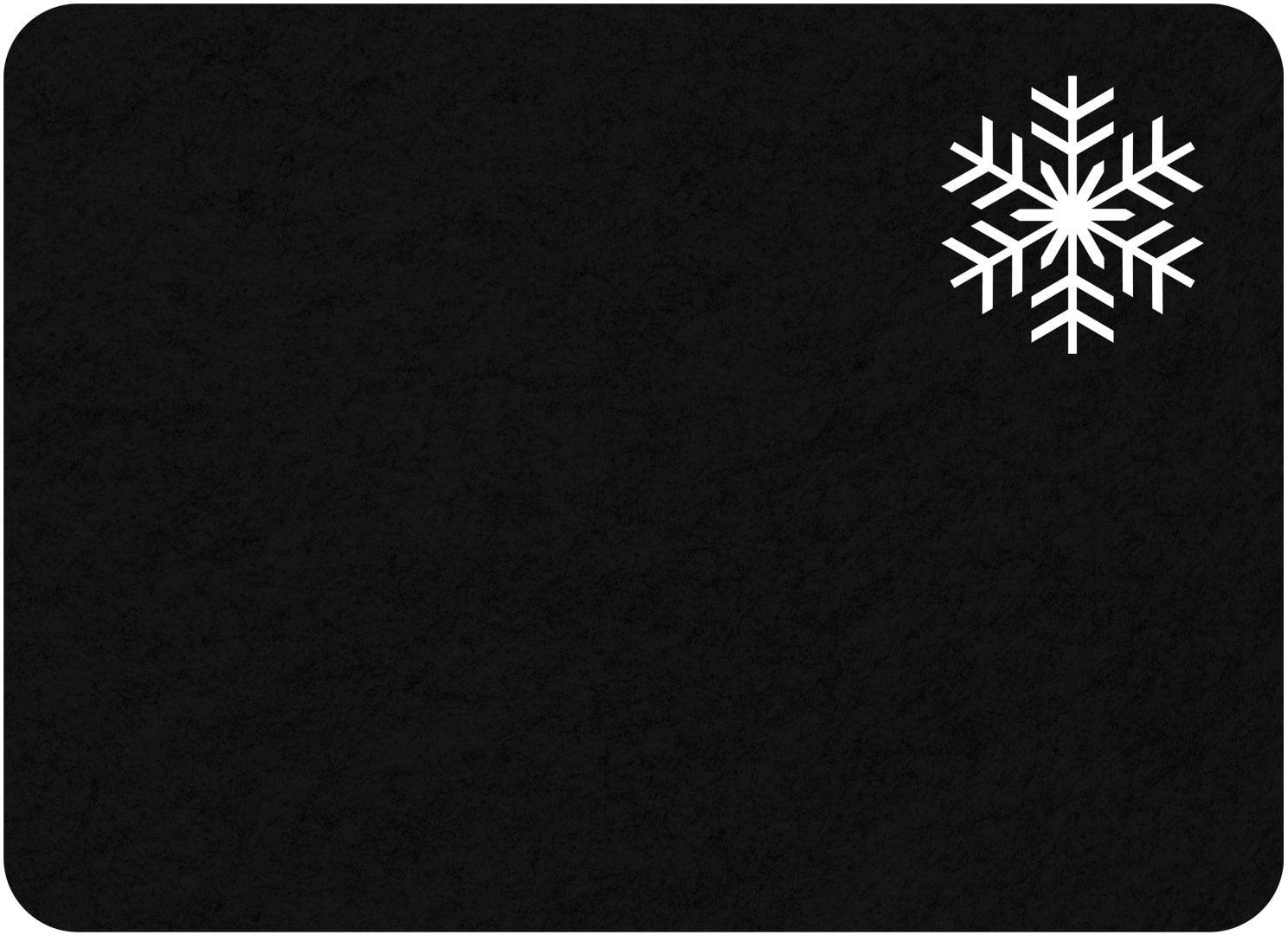 Podkładka pod talerz - Śnieżynka - 40 cm - 1 szt.