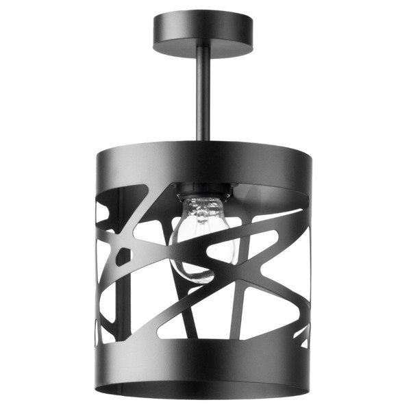 Lampa MODUŁ FREZ plafon czarna 17,5cm