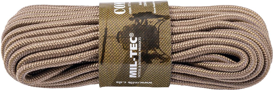 Linka Mil-Tec 7 mm x 15 m - 420 kg - coyote brown (15941005-007) SP